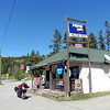 After breakfast I took a run up to the end of Eagle Bay Road on the Shuswap, returning through Monte Creek.  I stopped for a refreshment at the Hillside Store in Monte Creek.  A great day for a ride.