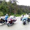 After braving some heavy rain from Hedley to Princeton the skies cleared a bit for our small group.  We took a break at the rest stop at Taylor Lake on Hwy 5.  Most people took the connector home to Kelowna but Adrian and I rode home via Kamloops passing through another couple of heavy rain storms.  We still enjoyed it.