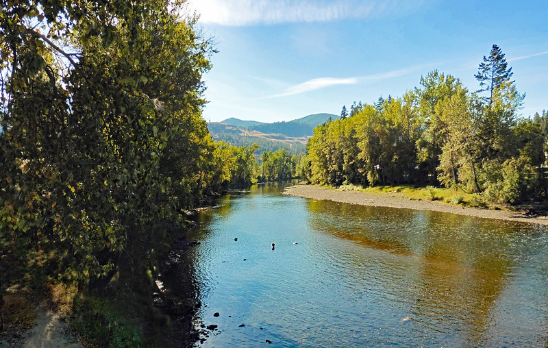 The Kettle River was running pretty low this time of year.
