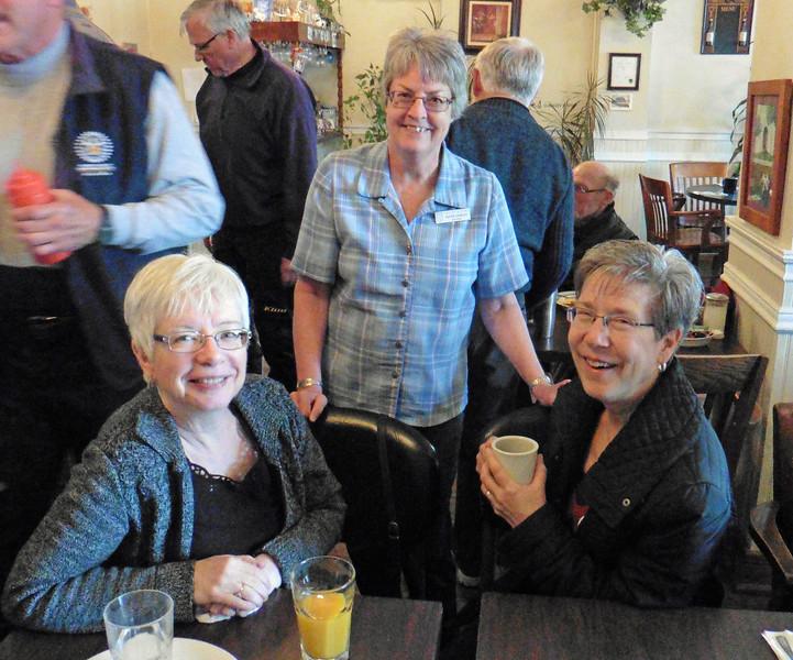 Mary-Lou, Kathi and Karen.