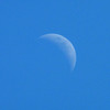 We were treated to a daytime new moon following the eclipse earlier in August.