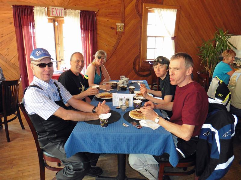CW   Dave, Russel, Diane, Siggi & Hans.