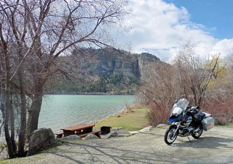 April 9th - Vaseaux Lake, BC
