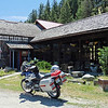 July 16, 2017.  I went for a morning ride that encompassed Green Mountain Road, Keromeos and Osoyoos before stopping for lunch at the Rock Creek Trading Post.  Good food, good coffee and good folks.