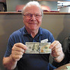Somewhere in the cash Gary found a $100 American bill.