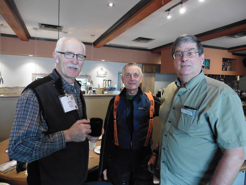 Otto, Brian & Ron.