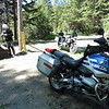 A new prospect, Derrick joined me for a run home over Princeton-Summerland Rd.  We stopped for a break at Osprey Lake.