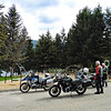 May 4th:  Bill caught up to us at Shannon Beach and we rode around to Herald Provincial Park on Shuswap Lake.