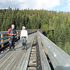 Terry and Bob on the Bellevue Trestle