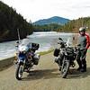 April 22nd.  Terry at Pillar Lake.