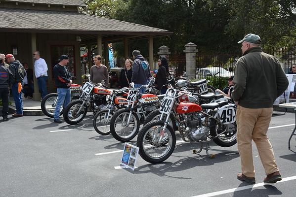 2018 Vintage Flat Track event Carmel Valley