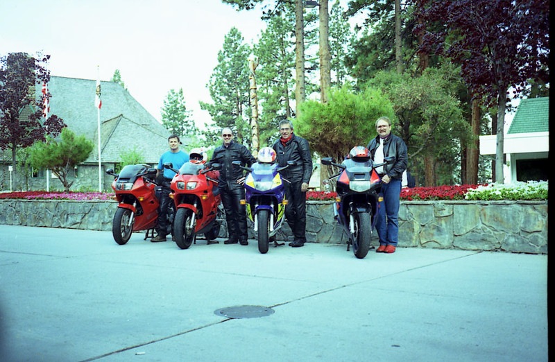 CalNeva lodge: Jim, Bill, John, Ty