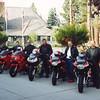 The boys with John Taylor at Cal Neva Casino, Tahoe