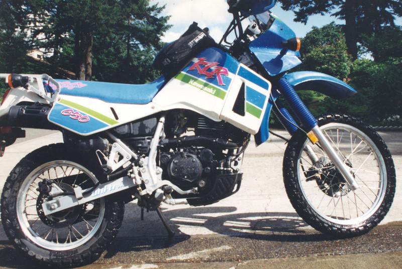 Kawasaki 650 about 1990