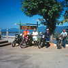 Motorcycle trip to N. Thailand and Golden Triangle. Reed, Bill, Roger from left.