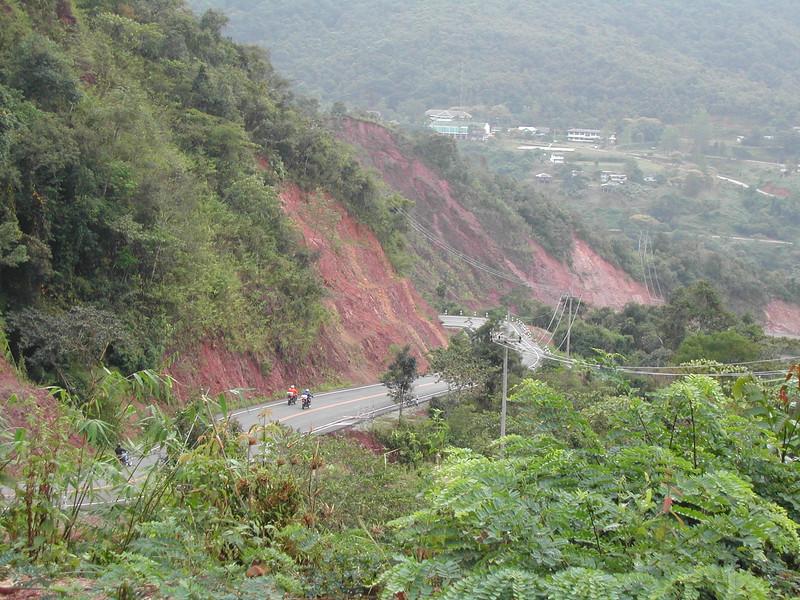 along the road near Chaing Mai, Thailand.