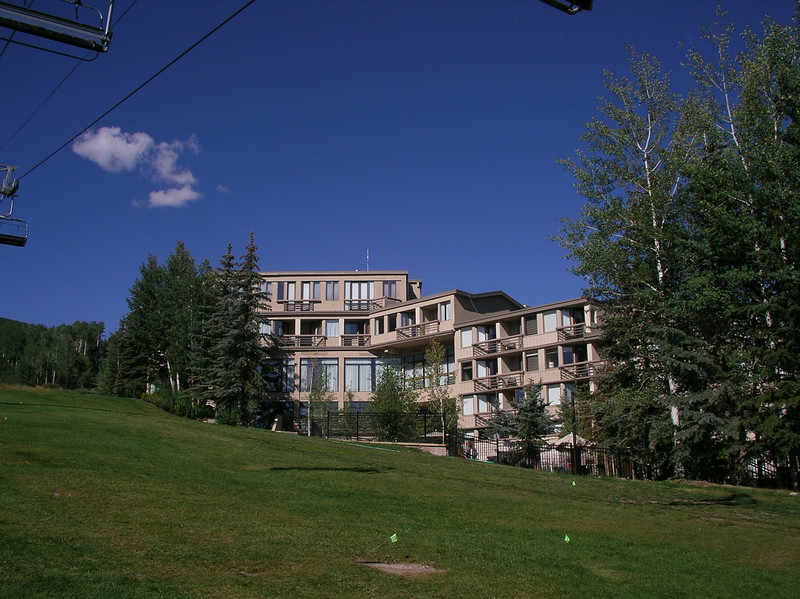 The Westin Snowmass, our hotel the first two nights