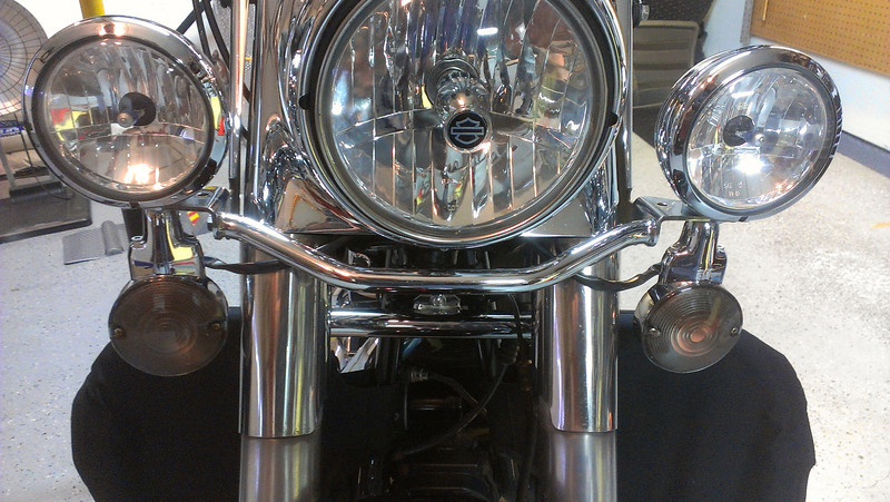 Smoked Harley Turn Signals (OFF)