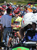 US Pro Cycling Challenge : I was lucky enough to work as a motor marshal for the Vail Time Trial, Stage 3 of the US Pro Cycling Challenge. They needed a few extra motors beyond their normal crew and the State Troopers. We had a motor lead out each of the riders to make a way through the crowd. I led out one amatuer fore runner, and 2 of the Pros. The second pro was number 92, Vladimir Efimkin, of Team Type one who got the orange (most aggressive rider) jersey the following day on the way to Steamboat. Unfortunately I only got a few stills before and after the TT, but it was awesome leading the way through crowds of spectators who barely parted as you drove through them. Riding at well over the posted limit, sometimes with a State Patrol officer, in our own lane of I-70 to get back to the start to pick the next rider was also a plus. I followed the race up to Steamboat for the finish of stage 4 and start of Stage 5 (where I got the cheesy fan photos of me with Vladimir). I finished up the week working as a motor marshall for the Steamboat Triathlon.