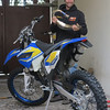 Klaus Sorensen with his new '13 TE125