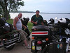 Harley riders who shared their campsite on Wilson Lake, Kansas