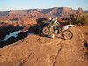 Dale and XR at Colorado River Overlook
