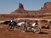 WhiteRim08 : My friend Rick and I did a quick one day lap around White Rim, late October 2008. I borrowed my friends XR400 and Rick used his DRZ400. We had joined some friends for a one day Westwater kayak trip the day before and decided we needed to do something else while we were out there.