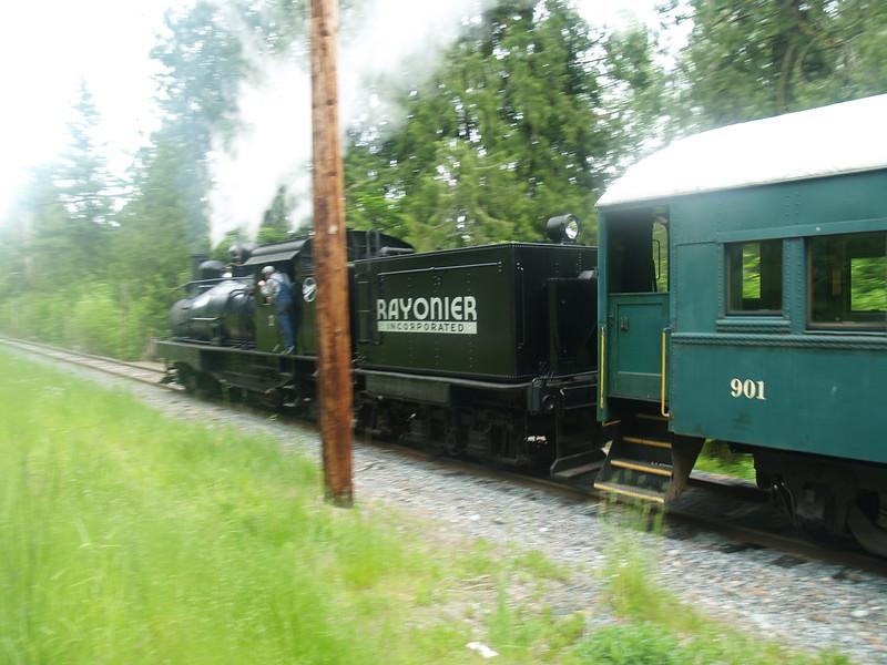 Mt. Rainier Scenic Railroad.