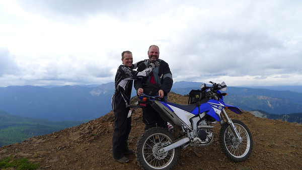 Naches Trail and Little Bald Mt August 3, 2013