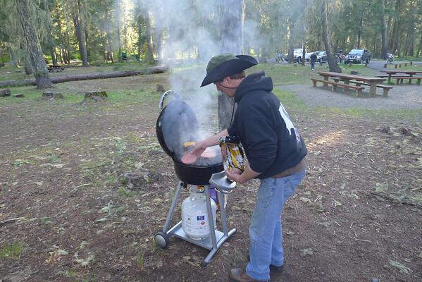 Salmon La Sac Camp out May 31, 2013