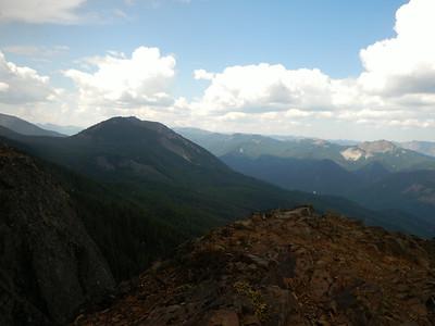 Little Bald Mountain Hail August 24, 2014