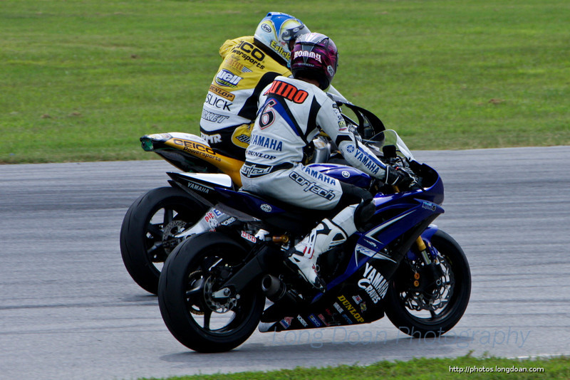 Danny Eslick and Tommy Aquino at VIR