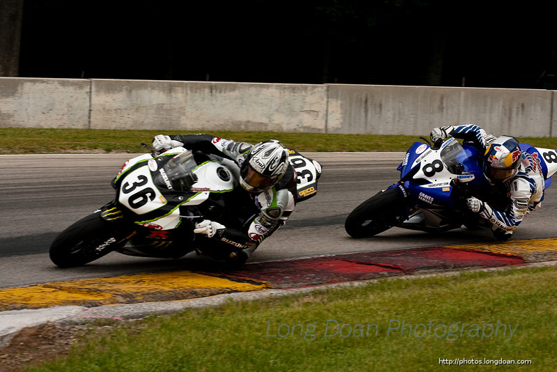 Martin Cardenas and Josh Herrin coming into turn 6th