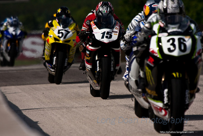 Crossing the start-finish line