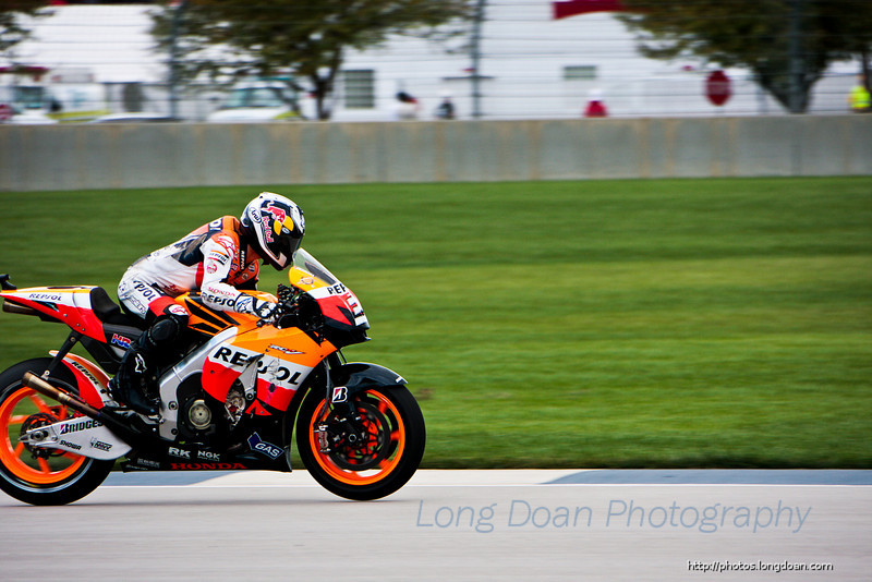 Danni Pedrosa at Indy MotoGP