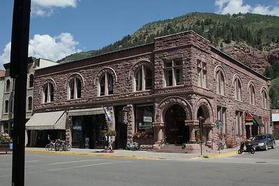 Loving the old architecture in Telluride, Colorado