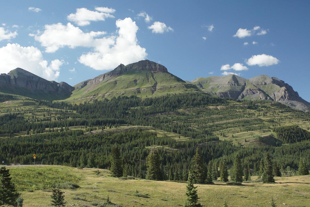 Views from Molas Pass, Million Dollar Highway