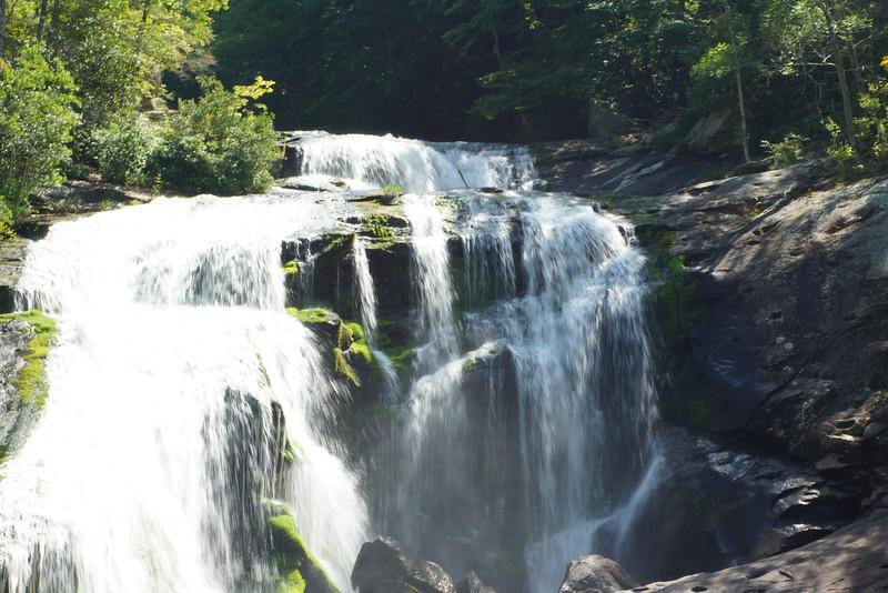 Bald River Falls<br /> Cherohala Skyway<br /> Tellico Plains, Tennessee