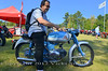 That's Alberto Sisso on his 1957 Motobi Imperiale 125, fresh off the Motogiro South event which kicked off the weekend