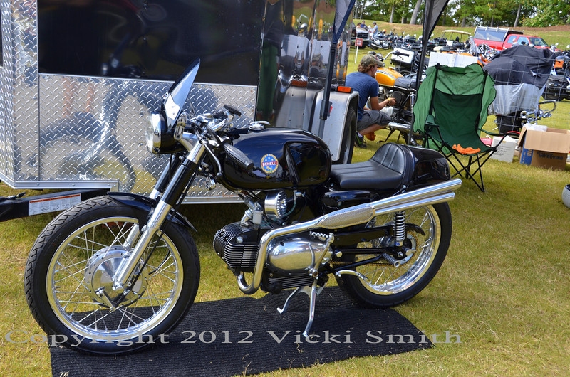 The swap meet was a great place to see unusual bikes (that weren't for sale) as well as every level of bike and parts