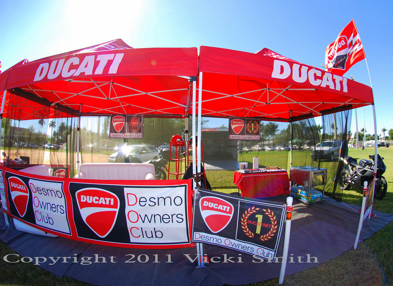 The Ducati.net and DOCSF lounge.  A great place top grab a cold water and people watch