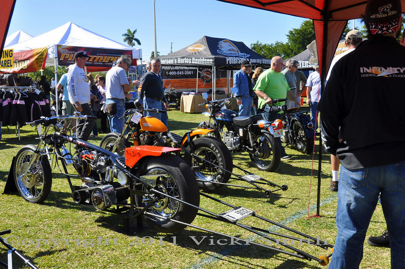 Everything from scooters to dragbikes, with this many show entries you get the full gamut