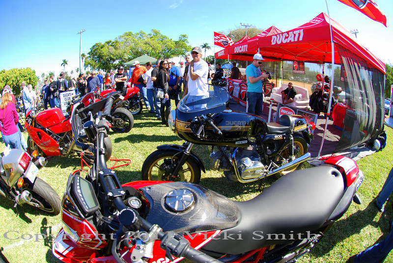 We had a seperate show for the modern Ducati's