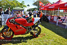 Chris Boy brought this beautiful 888, a winner in the Ducati show