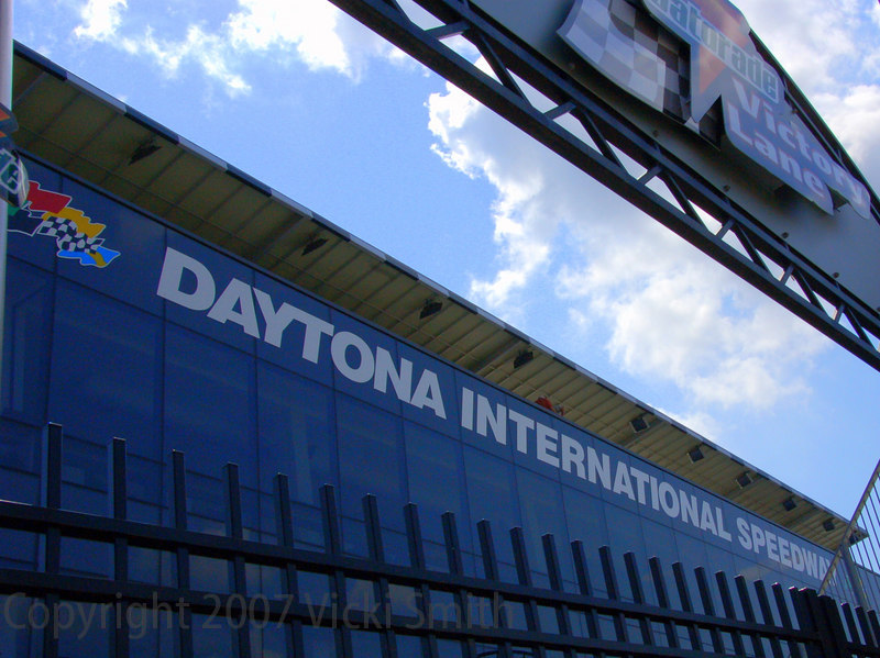 Daytona. It's big, it's famous and it's got a whole new look.