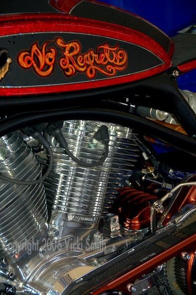 No Regrets - a Roland Sands designed bike.