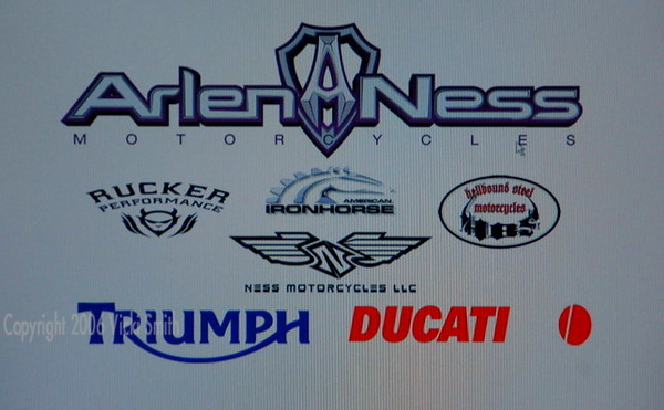 Some of the brands represented on the premises so far.