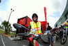 That's Danny Carson, Ducati North America's Event Manager.  The weekend was a good oppertunity to meet some of the DNA staff, a number of which were on hand