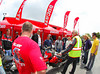 Each ride starts with a riders meeting.  Short version - Keep it on 2 wheels, please. :-)