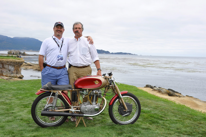 Jim III  and Jim Jr. Pebble Beach 2011